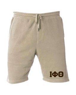 Iota Phi Theta Pigment-Dyed Fleece Shorts