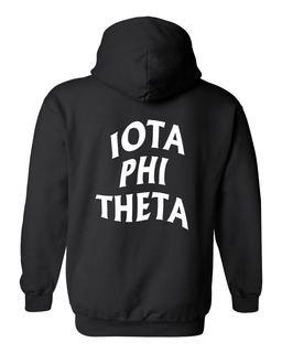 Iota Phi Theta Social Hooded Sweatshirt