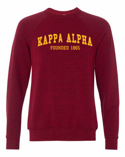 Kappa Alpha Fraternity Founders Crew Sweatshirt