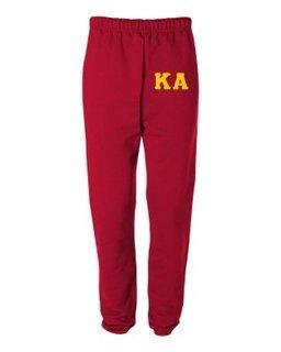 Kappa Alpha Greek Lettered Thigh Sweatpants
