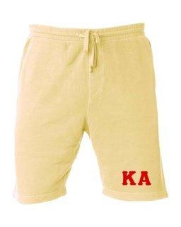 Kappa Alpha Pigment-Dyed Fleece Shorts