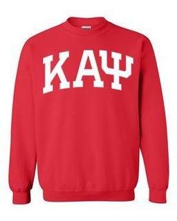 Kappa Alpha Psi Greek Lettered Arch Crewneck Sweatshirt