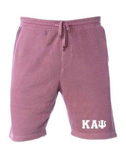 Kappa Alpha Psi Pigment-Dyed Fleece Shorts