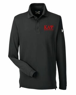 Kappa Alpha Psi Under Armour�  Men's Performance Long Sleeve Fraternity Polo
