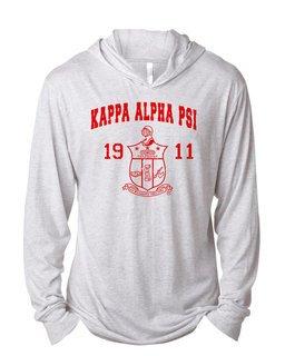 Kappa Alpha Psi Unisex Triblend Long-Sleeve Hoodie