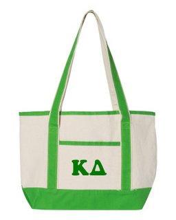 Kappa Delta Sailing Tote Bag