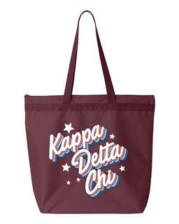 Kappa Delta Chi Flashback Tote bag