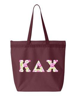 Kappa Delta Chi Greek Letter Liberty Bag