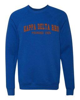 Kappa Delta Rho Fraternity Founders Crew Sweatshirt