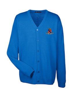 Kappa Delta Rho Greek Letterman Cardigan Sweater