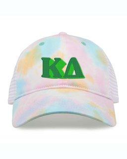 Kappa Delta Sorority Sorbet Tie Dyed Twill Hat