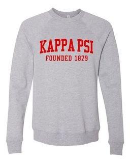 Kappa Psi Fraternity Founders Crew Sweatshirt