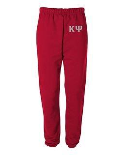 Kappa Psi Greek Lettered Thigh Sweatpants