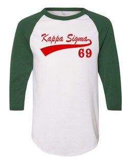 Kappa Sigma Tail Year Raglan