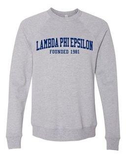 Lambda Phi Epsilon Fraternity Founders Crew Sweatshirt
