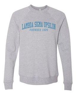 Lambda Sigma Upsilon Fraternity Founders Crew Sweatshirt