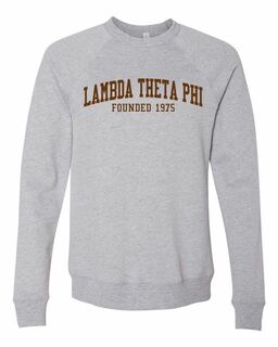 Lambda Theta Phi Fraternity Founders Crew Sweatshirt