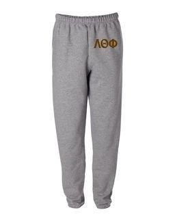 Lambda Theta Phi Greek Lettered Thigh Sweatpants