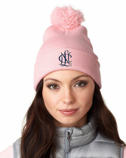 National Charity League Knit Pom-Pom Beanie with Cuff