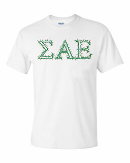 Fraternity & Sorority Christmas Lights Tee