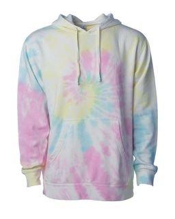 Sunset Swirl Tie-Dyed Hoodie