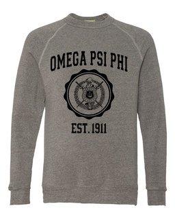 Omega Psi Phi Alternative - Eco-Fleece� Champ Crewneck Sweatshirt