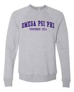 Omega Psi Phi Fraternity Founders Crew Sweatshirt