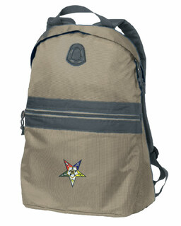 DISCOUNT-Order of Eastern Start Nailhead Backpack