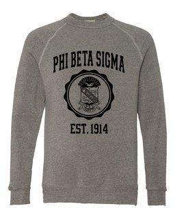 Phi Beta Sigma Alternative - Eco-Fleece� Champ Crewneck Sweatshirt