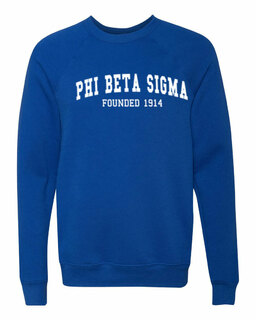 Phi Beta Sigma Fraternity Founders Crew Sweatshirt
