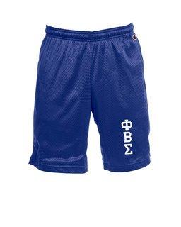 Phi Beta Sigma Mesh Short