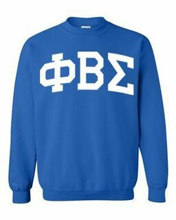 Phi Beta Sigma Greek Lettered Arch Crewneck Sweatshirt