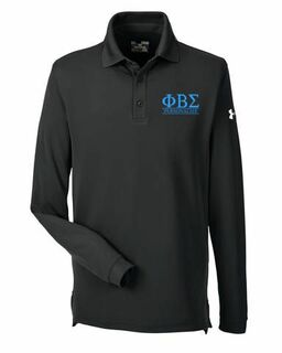 Phi Beta Sigma Under Armour�  Men's Performance Long Sleeve Fraternity Polo