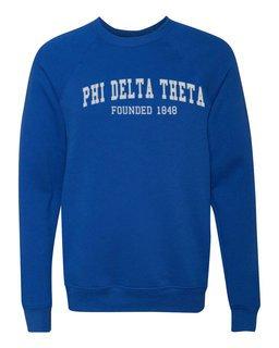Phi Delta Theta Fraternity Founders Crew Sweatshirt