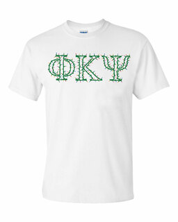 Phi Kappa Psi Christmas Lights Tee