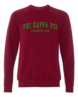 Phi Kappa Psi Fraternity Founders Crew Sweatshirt