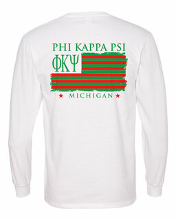Phi Kappa Psi Stripes Long Sleeve T-shirt