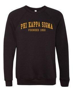 Phi Kappa Sigma Fraternity Founders Crew Sweatshirt