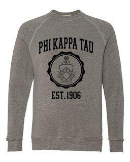 Phi Kappa Tau Alternative - Eco-Fleece� Champ Crewneck Sweatshirt