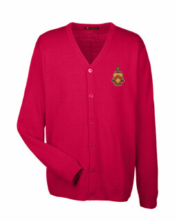 Phi Kappa Tau Greek Letterman Cardigan Sweater