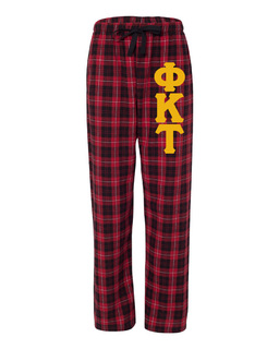 Phi Kappa Tau Pajamas Flannel Pant