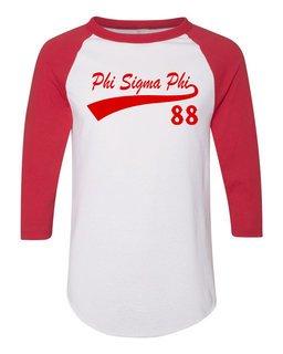 Phi Sigma Phi Tail Year Raglan