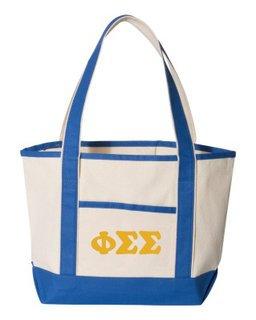 Phi Sigma Sigma Sailing Tote Bag