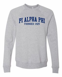 Pi Alpha Phi Fraternity Founders Crew Sweatshirt