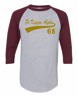 Pi Kappa Alpha Tail Year Raglan