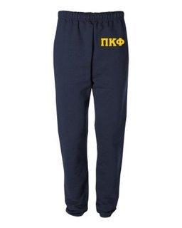 Pi Kappa Phi Greek Lettered Thigh Sweatpants