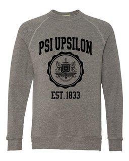 Psi Upsilon Alternative - Eco-Fleece� Champ Crewneck Sweatshirt