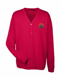 Psi Upsilon Greek Letterman Cardigan Sweater