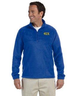 Sigma Chi Quarter-Zip Fleece Pullover
