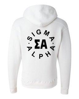 Sigma Alpha Circle Hoodie